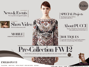 EMILIO PUCCI Pre-Collection FW12