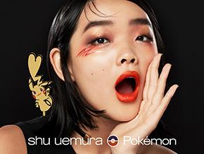 shu uemura × Pokémon